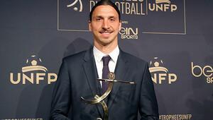 Zlatan Fransa'da 4. kez Yılın Futbolcusu