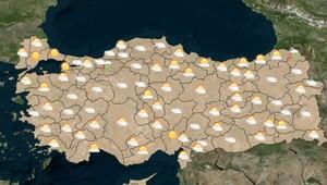 İstanbul, Ankara, İzmir hava durumu - Meteoroloji