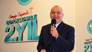 MHP'li Başkan Ergün'den 2 yıllık değerlendirme