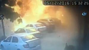 İşte İstanbul Sancaktepe'deki patlama anı