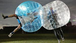 Big Bubble futbol tanıtımı Ankara'da yapıldı
