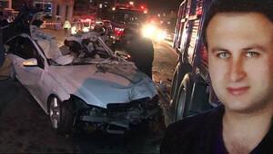 Maltepe'de feci kaza... İşadamı Mehmet Sağdıç yaşamını yitirdi