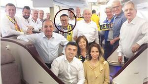 Fenerbahçe uçağındaki sürpriz isim