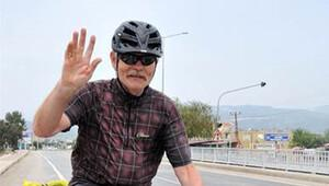 Bisikletiyle iki kıtayı gezecek