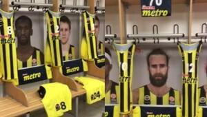 Fenerbahçe soyunma odası hazır, kupayı bekliyor