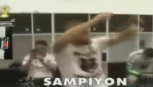 Beşiktaşlı futbolcular şampiyonluğu işte böyle kutladı!