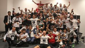 Beşiktaş'tan dev şampiyonluk kutlaması