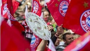 Bayern Münih şampiyonluğunu kutladı