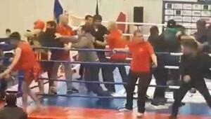 Azeri ve Ermeni kungfucular birbirine girdi