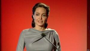 Angelina Jolie Türkiye'nin mülteci politikasını övdü