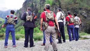Karadeniz'de 'gönüllü korucular' görevde