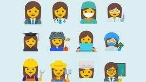 'İş hayatında kadın' emojileri geliyor
