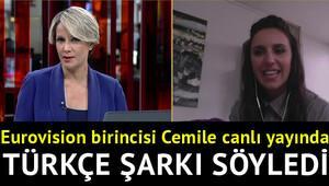 Eurovision birincisi türkçe şarkı söyledi