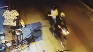 Kokoreççiye pompalı saldırı kamerada