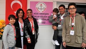 Çocuklar Gülsün Diye Derneği'nin 34'üncü anaokulu sürprizle açıldı