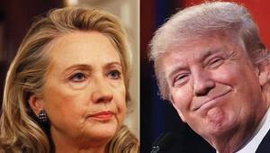 Hillary ve Trump finişe çok yaklaştı
