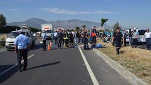 Belediye işçilerinin arasında daldı: 3 ölü