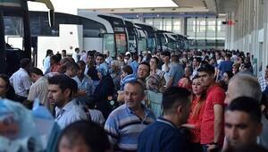 Otobüs firmalarında 19 Mayıs yoğunluğu