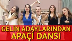 Gelin ve Damat adaylarından Apaçi dansı