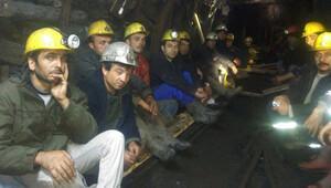 85 madenci açlık grevine başladı
