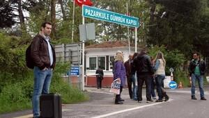 Pazarkule Sınır Kapısı'nda geçişler durdu