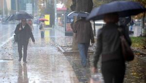 Meteoroloji uyardı: İstanbul'da sağanak var