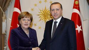Cumhurbaşkanı Erdoğan, Merkel'i kabul edecek