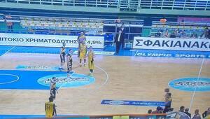 AEK-Aris maçı 5 oyuncuyla tamamlandı!