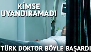 Türk doktor kimsenin uyandıramadığı hastayı böyle uyandırdı