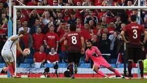 Gol teknolojisi ilk kez İngiltere Türkiye maçında uygulandı
