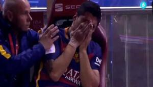 Barcelona'da korku dolu anlar!