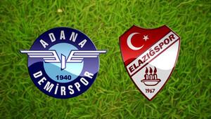 Adana Demirspor Elazığspor maçı saat kaçta hangi kanalda canlı olarak yayınlanacak?
