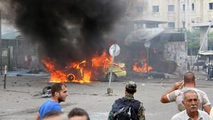 Suriye'nin iki kentinde yedi patlama: En az 100 ölü