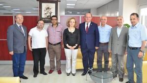 ÇGC yönetiminden Balcalı ziyareti