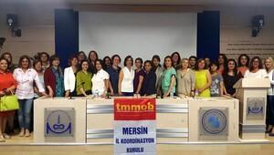 Mersin'de kadınlardan TBMM raporuna tepki