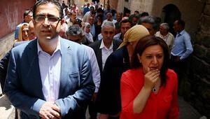 Sur esnafını ziyaret eden HDP'lilere tepki