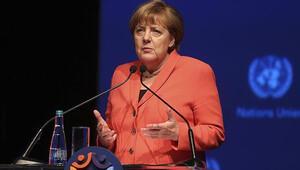 Merkel: 'Hepimiz aynı gezegende yaşıyoruz'