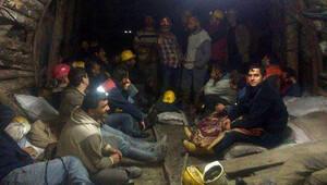 Açlık grevindeki maden işçilerinden 15'i hastaneye kaldırıldı