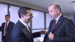 Erdoğan'dan Çipras'a güldüren 'kravat' sorusu