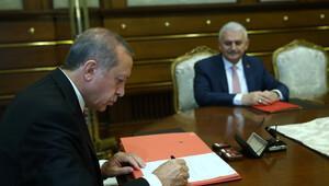 Erdoğan yeni hükümeti onayladı