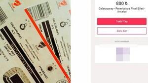Galatasaray-Fenerbahçe derbi biletleri 10 katına karaborsada