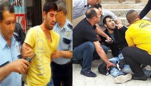 Bursa'da sokak ortasında silahlı kavga