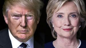 Amerikan halkının çoğunluğu Trump ve Clinton'ı sevmiyor