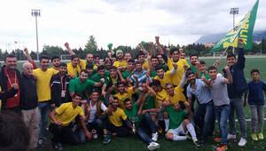 Mezarlıkspor ilk yılında şampiyon!