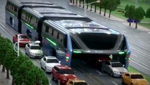 Çinliler 1200 yolcuyu böyle taşıyacak!