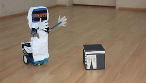 Bingöl'de yapıldı: Bu robot diğerlerinden çok farklı
