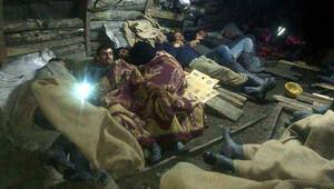 Madenciler, ocaktan çıkmama eyleminde 7'inci güne girdi