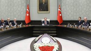 Hükümetin ilk Bakanlar Kurulu Beştepe'de toplandı
