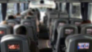 Metro otobüsünde akılalmaz olay!
