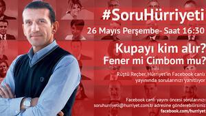 #SoruHürriyeti'nin sıradaki konuğu Rüştü Reçber!